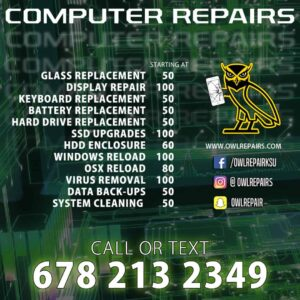 iPhone, Android and Computer Repair Pricing 1