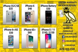 iPhone, Android, & Computer Repair Pricing 1